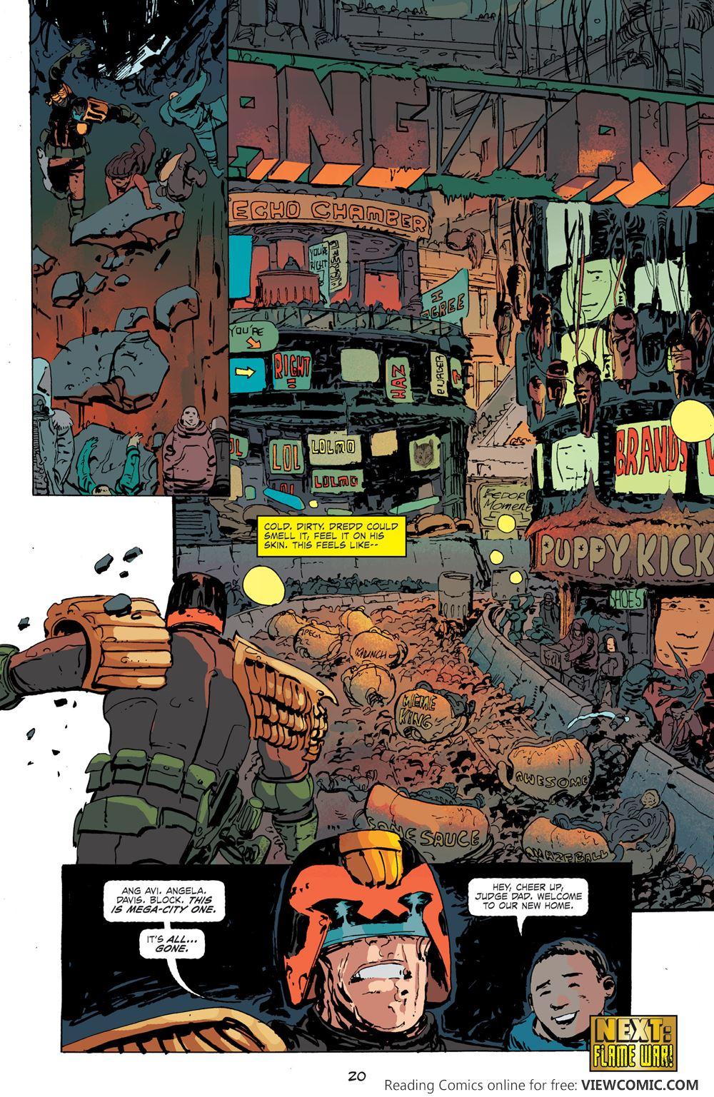 Comics pdf dredd judge