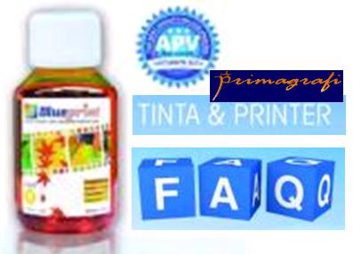 Ilustrasi Yang Sering Ditanyakan Mengenai Tinta Dan Printer - Primagrafi