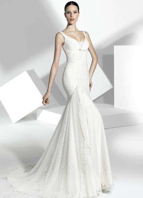 bodas y anillos: manu alvarez colección de vestidos de novias 2013