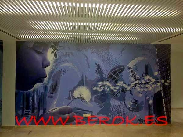 Murales y graffitis para decorar oficinas