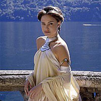 Star Wars Attack of the Clones Padme Amidala Natalie Portman balcony scene