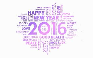 UCAPAN TAHUN BARU 2016 DP PP Gambar Selamat Tahun Baru 2016 WA Facebook Line