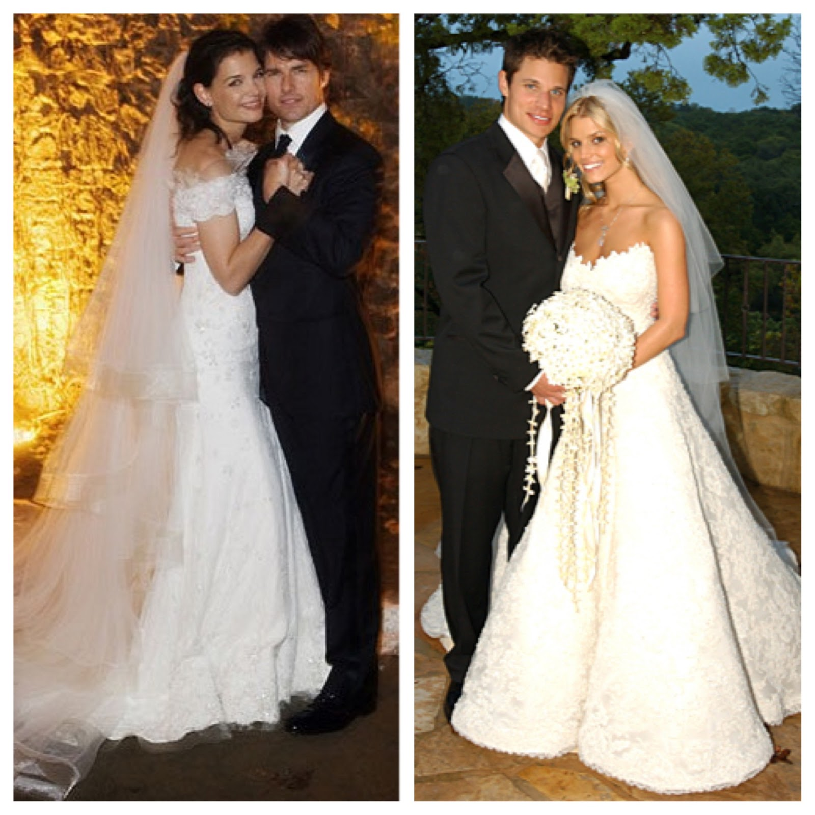 Beautiful Jessica Simpson Wedding Gown Elaboration - Wedding Dress ...