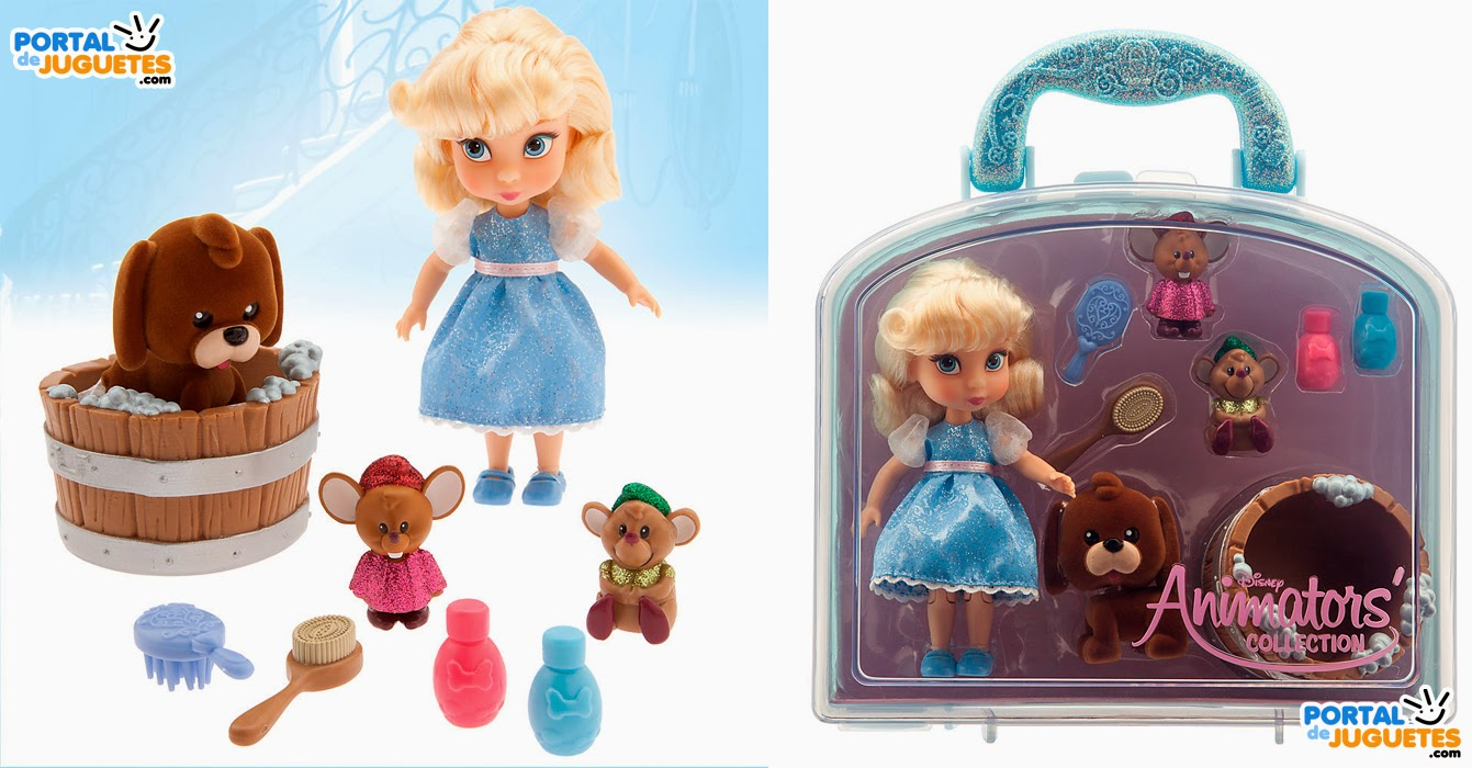 Minimuñeca Cenicienta Coleccion Disney Animators