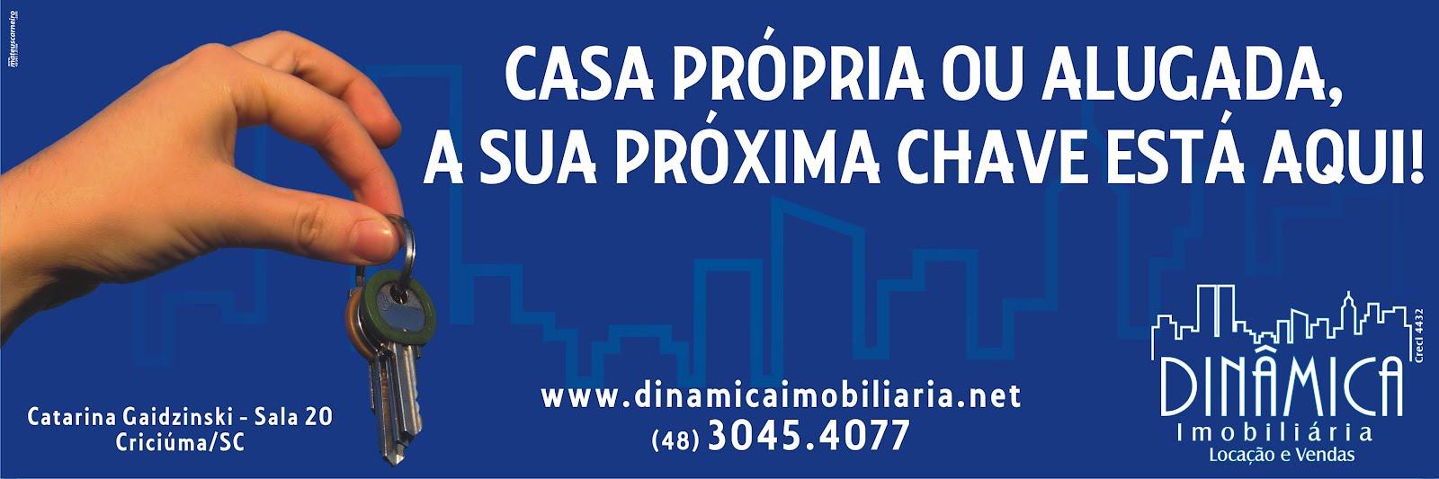 Dinâmica Imobiliária. Criciúma -Venda de apartamentos, terrenos, casas e salas comerciais