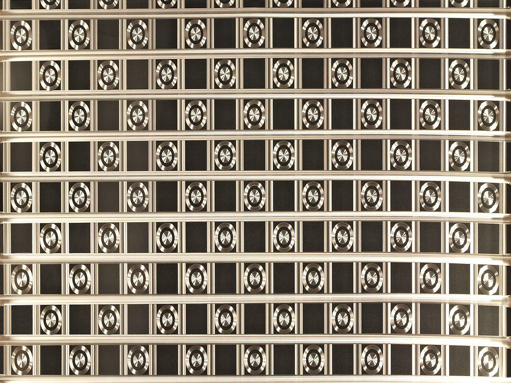 Perforated Stainless Steel Plate Templates