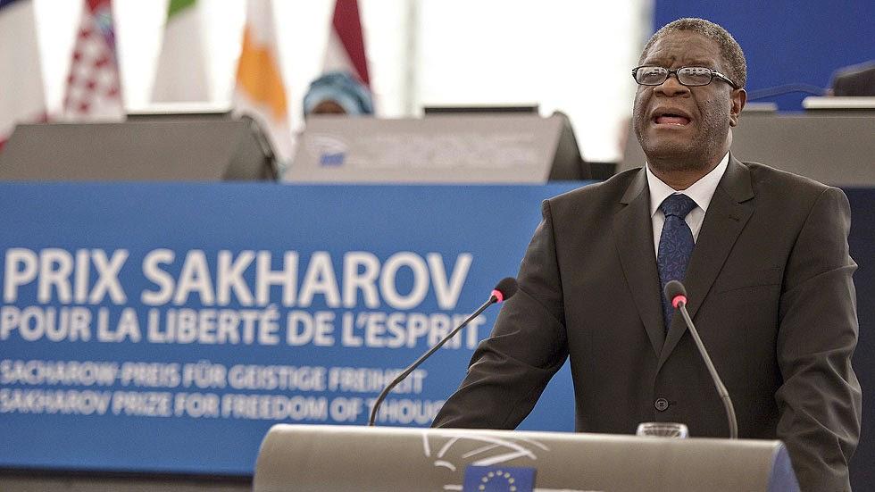 Denis Mukwege, premio Sajarov 2014