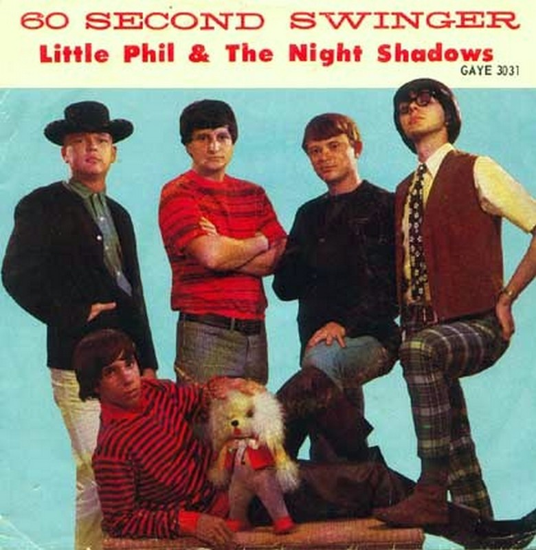 Little Phil The Night Shadows 60 Second Swinger In The Air