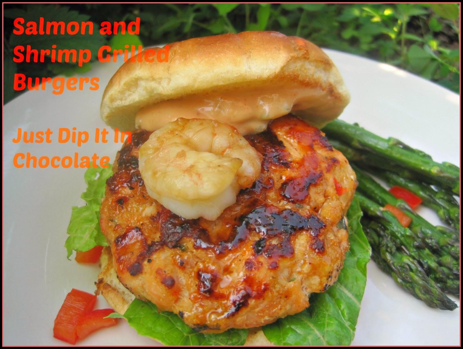Shrimp and salmon cakes recipe