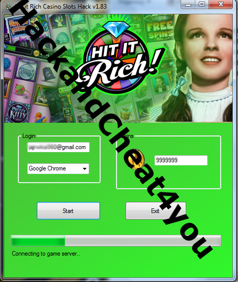 hit it rich casino slots hack