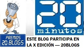 <strong>PREMIOS 20 BLOGS</strong>