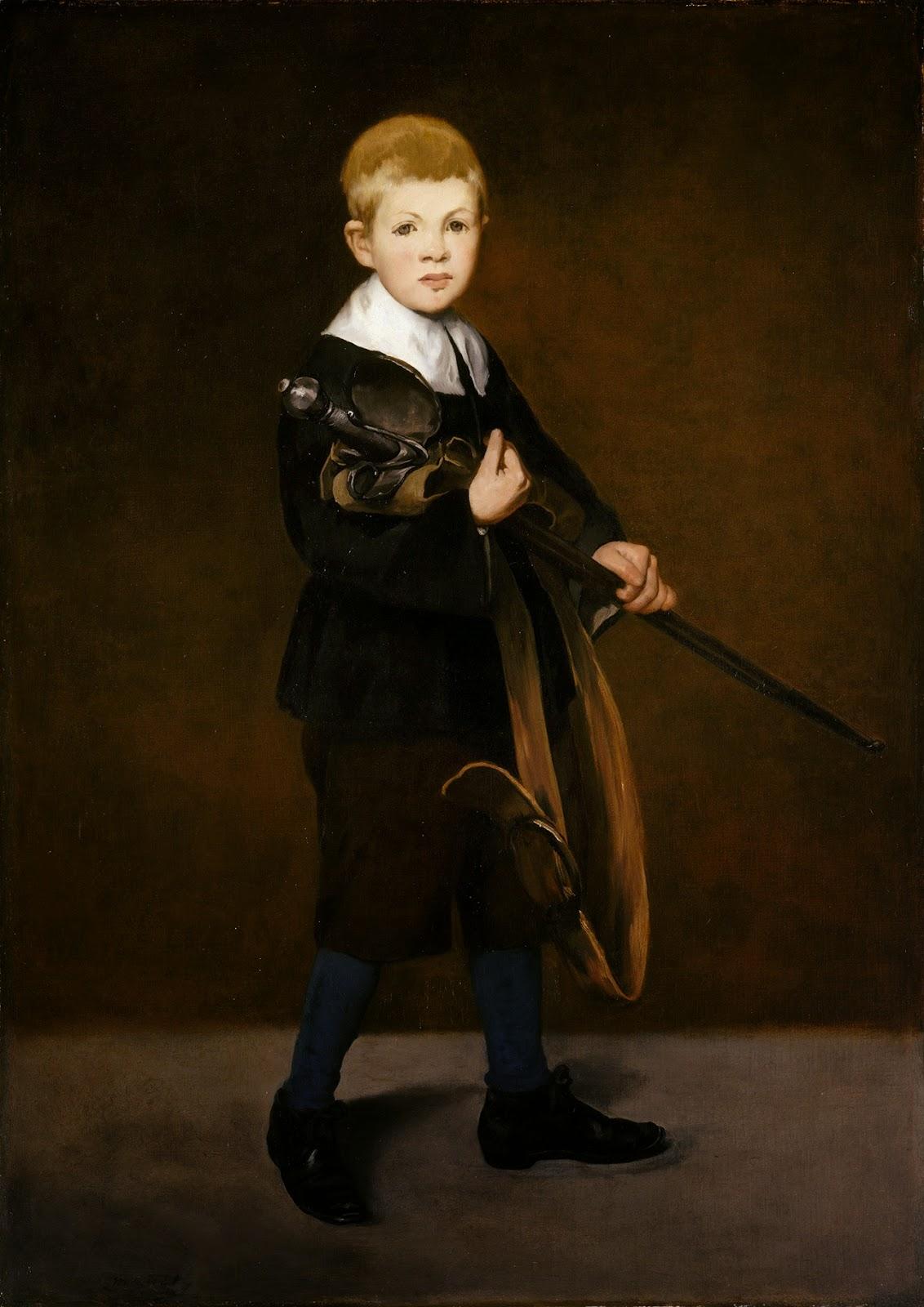Édouard Manet, Niño con espada (1861), Metropolitan Museum, Nueva York