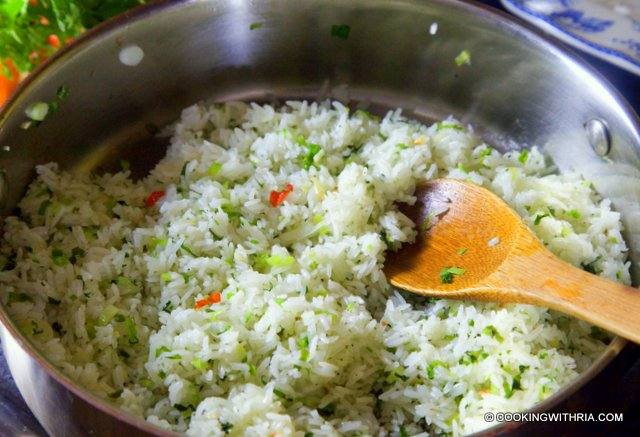 Scallion Cilantro Rice With Habaneros And Lime Recipes — Dishmaps