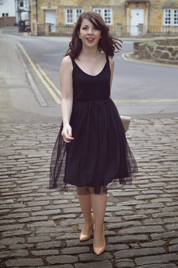 HOW TO WEAR TULLE DRESS OOTD