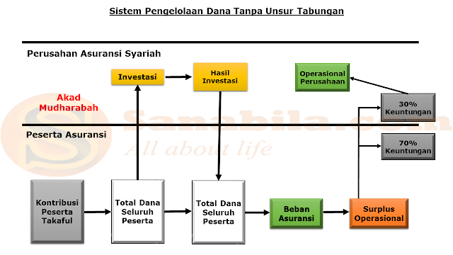 Sistem Pengelolaan Dana Tanpa Unsur Tabungan Pada Asuransi Syariah (Takaful)