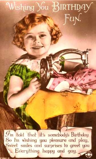 High Prairie Farmgirl: Vintage Birthday Cards