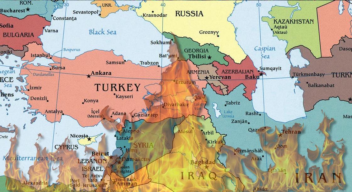 türkiyenin komşuları