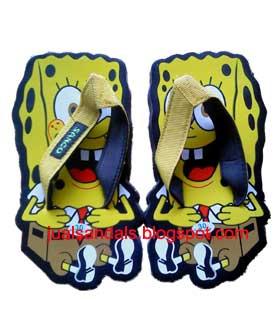 sandal spongebob