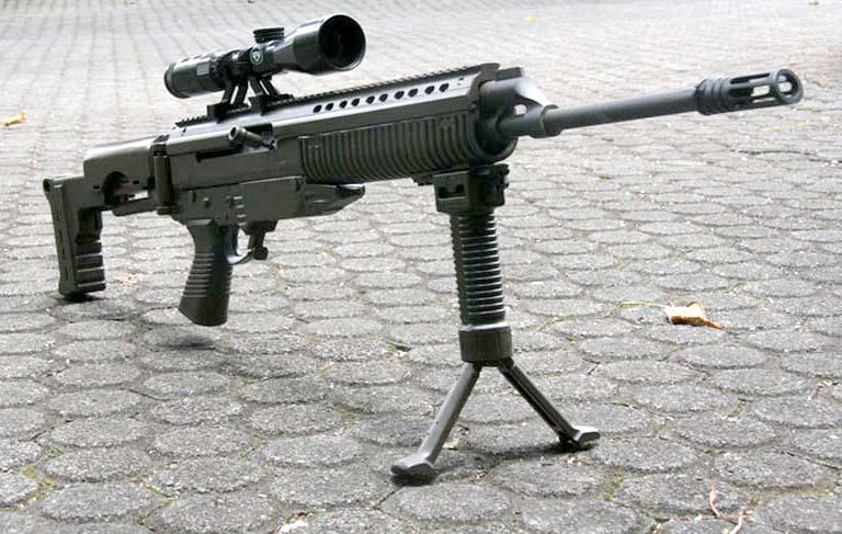Prototype Senjata SSX buatan PT Pindad