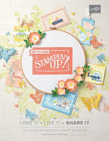 View the 2019 Stampin' Up!® Occasions Catalogue online