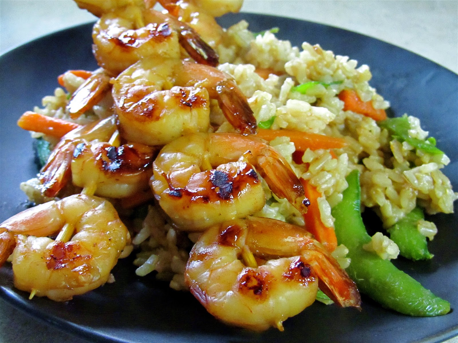 Teriyaki Shrimp Rice Recipe