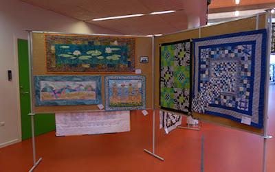Tine Vognsen's væg til udstillingen