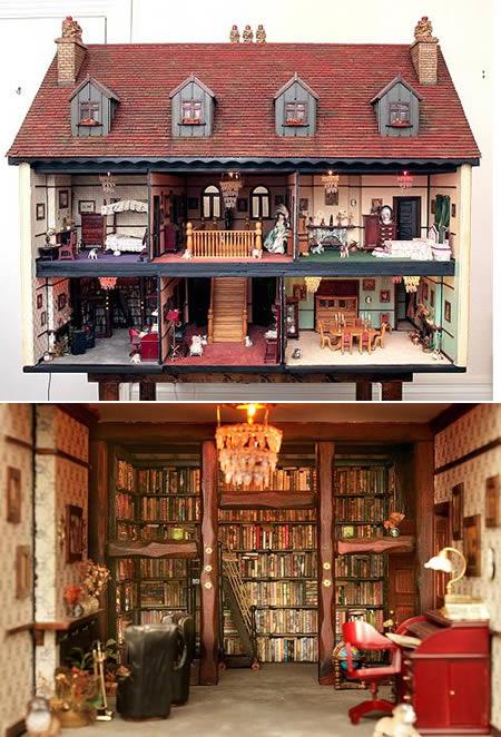 rumah miniatur paling mengagumkan