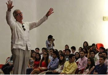 Conferencia sobre la felicidad. México.