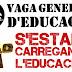 9 de maig: vaga general d'educació. S'estan carregant l'educació !