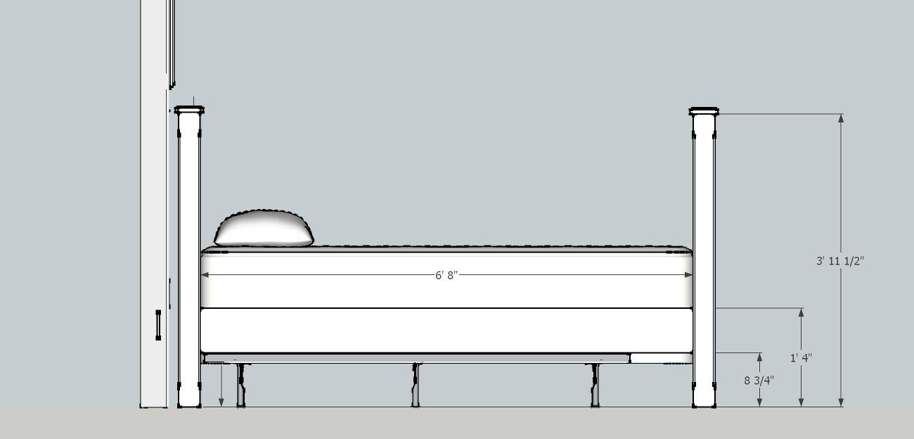 bed frame dimensions bedding sets