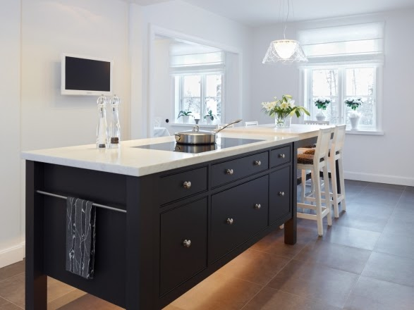Simply Beautiful Kitchens The Blog Sola Kitchens Black And White Kitchen