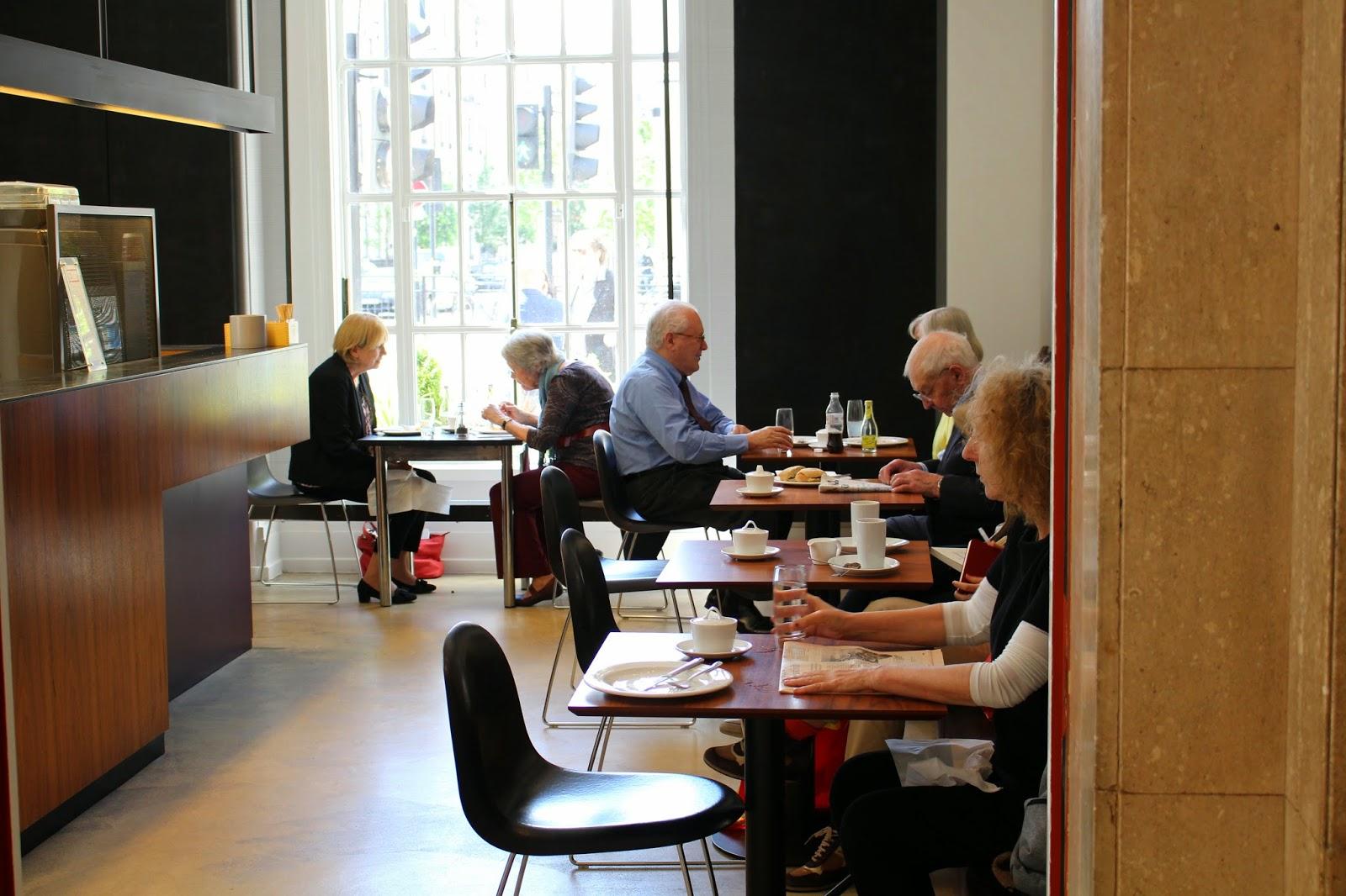 London free wifi study spots RIBA