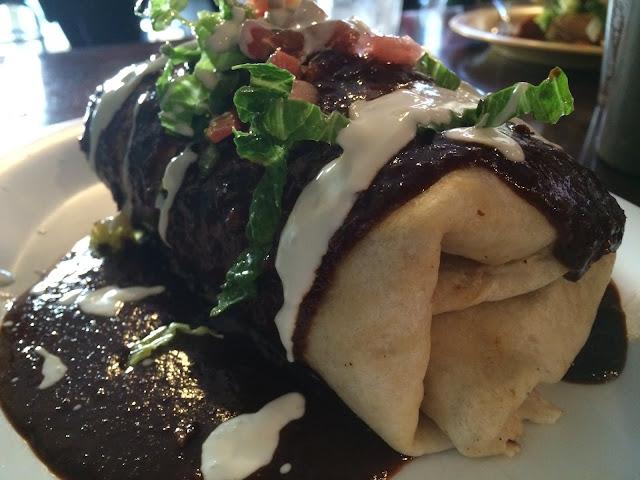 Mole Burrito at El Limon in Wayne, PA