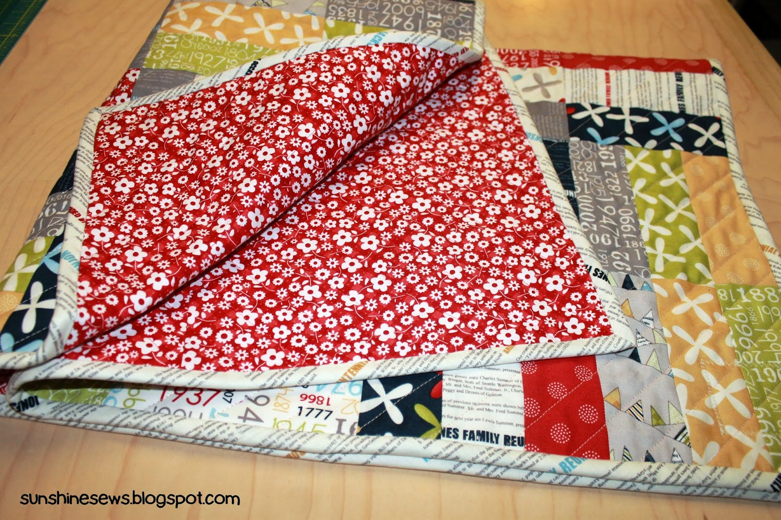 Fat Quarter Shop Pattern