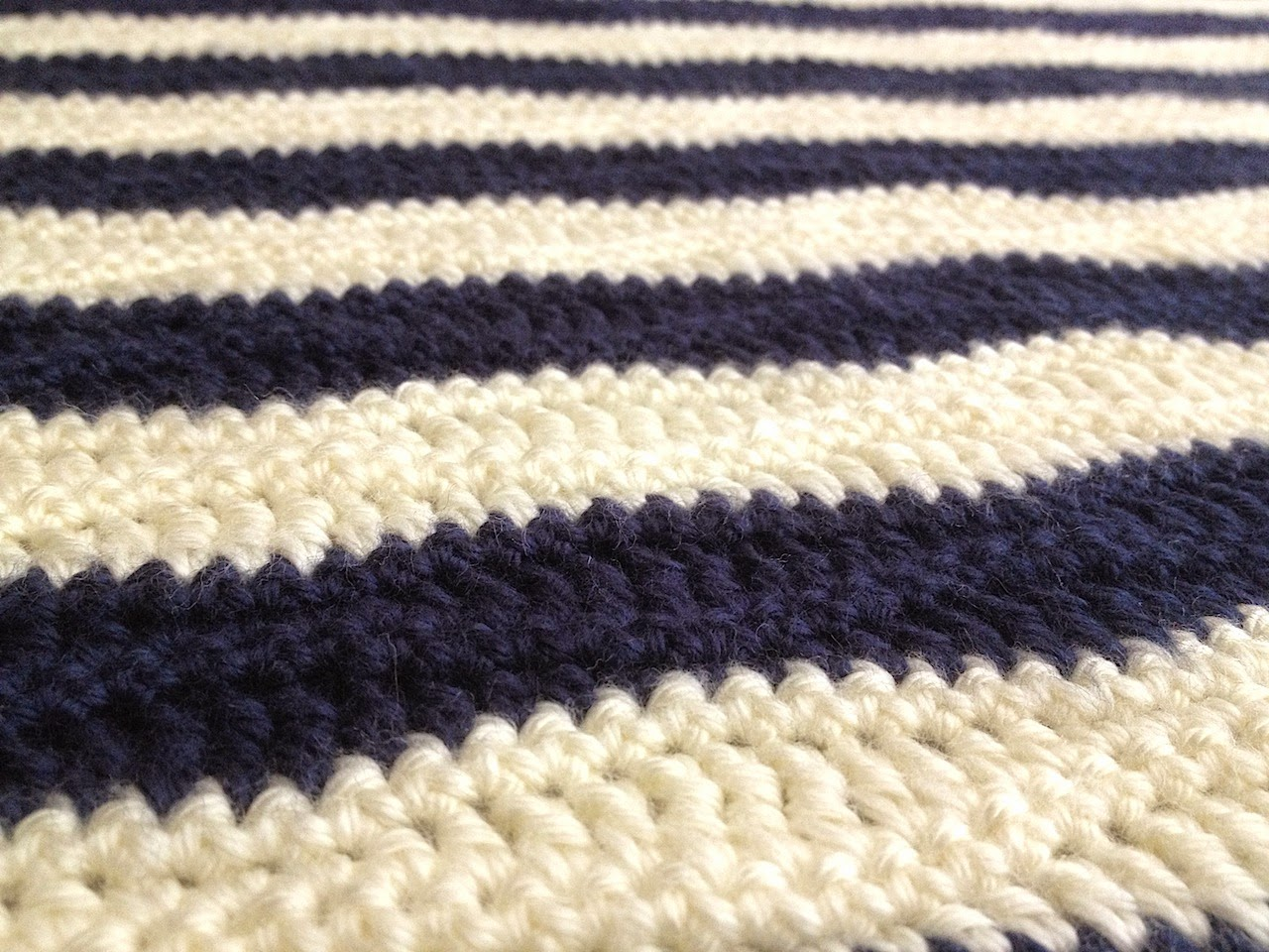 The Nautical Baby Blanket pattern is available on Ravelry and Craftsy ...