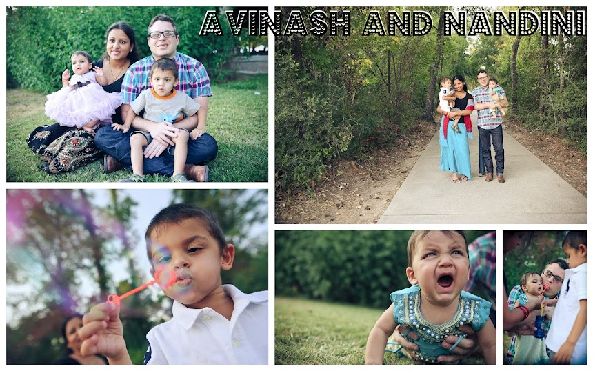Avinash and Nandini | Rainbow Scraps