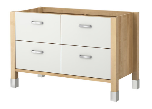 Buffet de cuisine ikea for Meuble de cuisine independant
