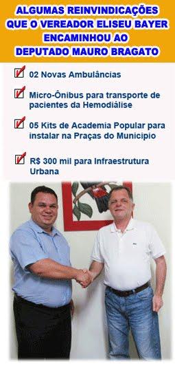 Eliseu Bayer e Mauro Bragato