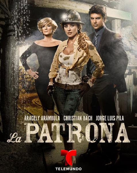 """La patrona"""" ,que se ha convertido en la telenovela más vista de la ..."""