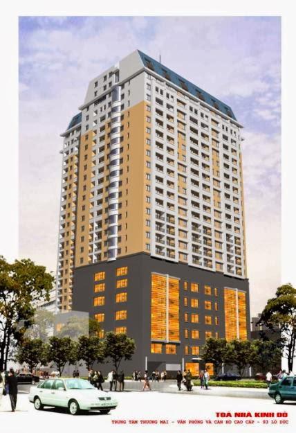 Chung cư Kinh Đô Tower 93 Lò Đúc