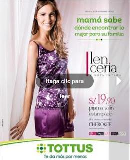 tottus catalogo lenceria 11-2012