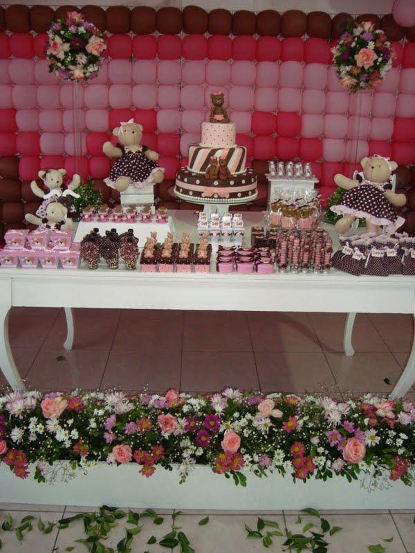 Festa Ursinho Puff - Decoração de festa infantil Ursinho Puff