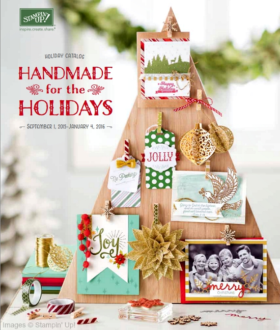 Photo image of Stampin' Up! 2015 Holiday Catalog Cover