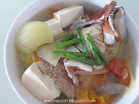 Dreamersloft the cookforfamily initiative fish head for Fish head soup recipe