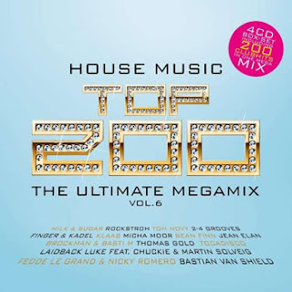 House Top 200 Vol 6 [4CD] (2013) | músicas