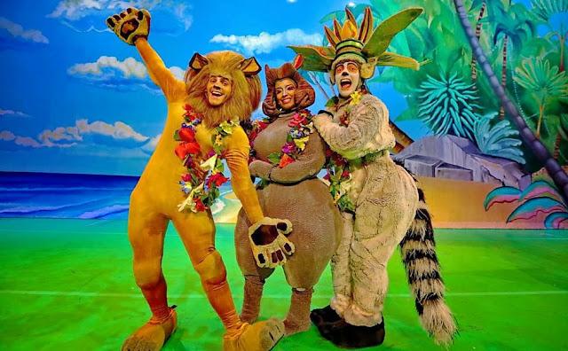 Madagascar ao vivo