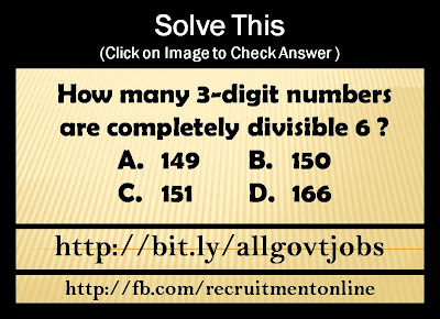 How many 3-digit numbers are completely divisible 6