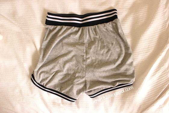 boohoo, shorts, thickwaist