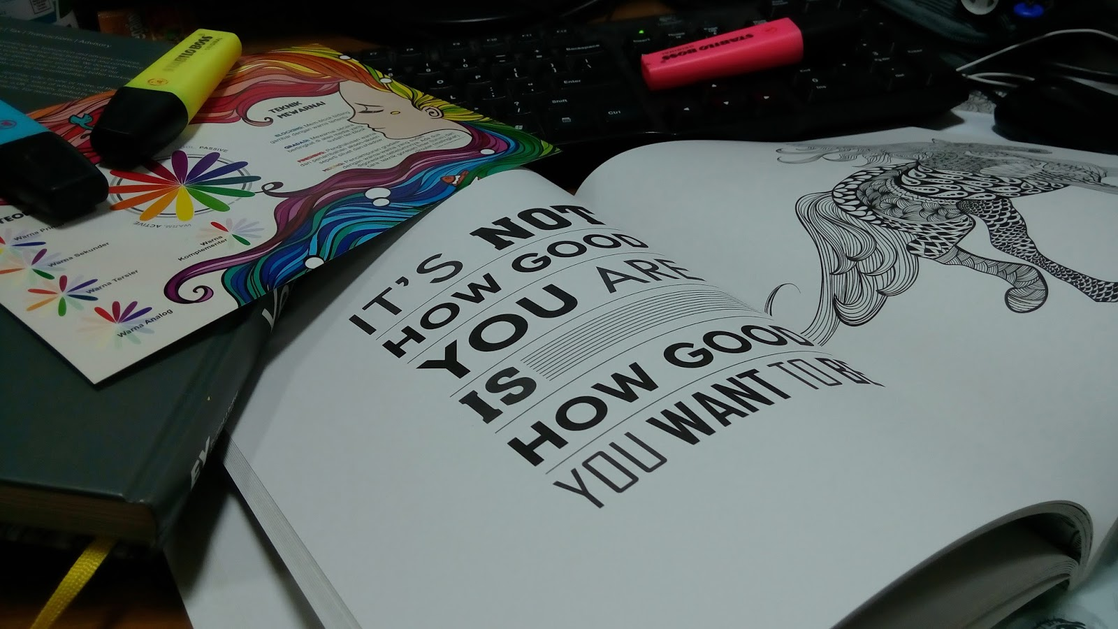 Taman Rahasia Cha My Own World Coloring Book For Adult
