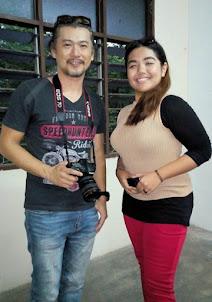 Deena Bersama Pengarah Filem Jakson Chong